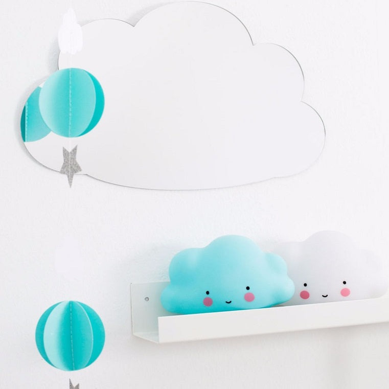 Cloud Night Light Blue by A Little Lovely Company - minifili