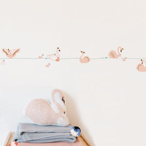 Swan Border Wall Decal by MIMI'lou - minifili