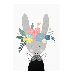 Bunny in Bloom Print