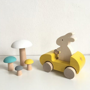 Champignons de Paris Yellow by Briki Vroom Vroom - minifili