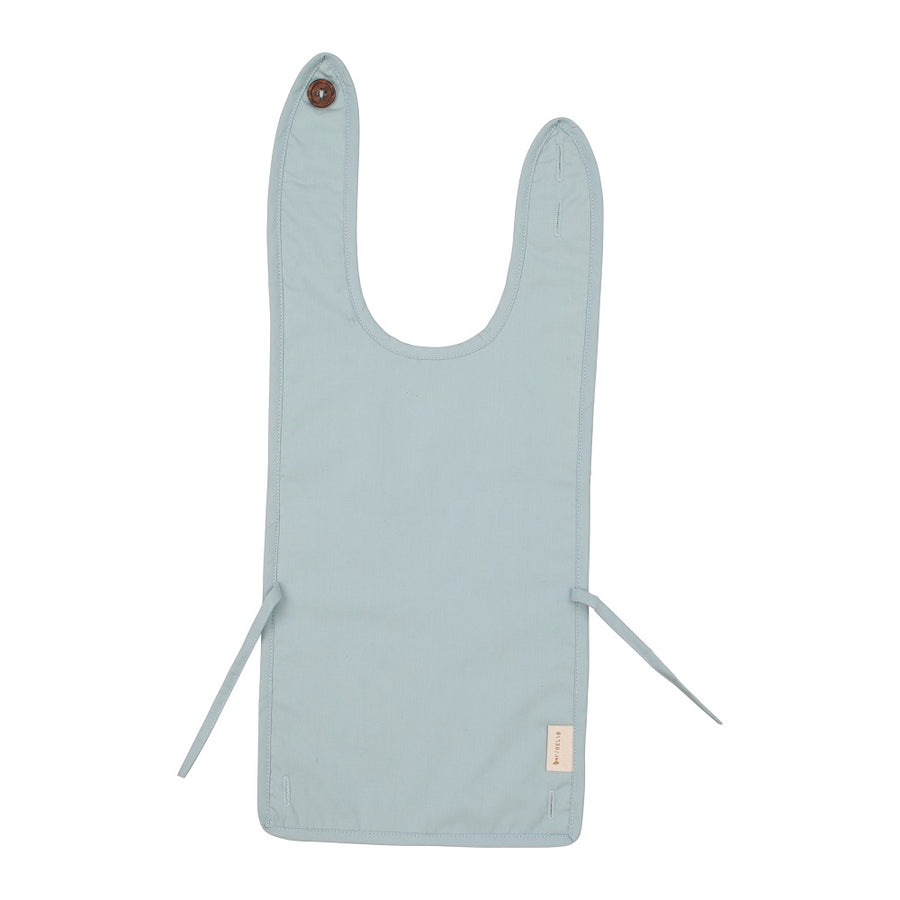 Coated Bib Foggy Blue