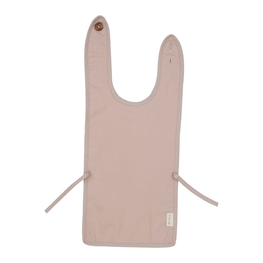Coated Bib Mauve