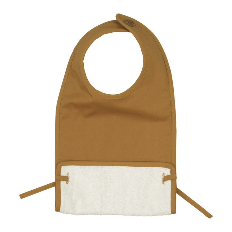 Coated Bib Ochre