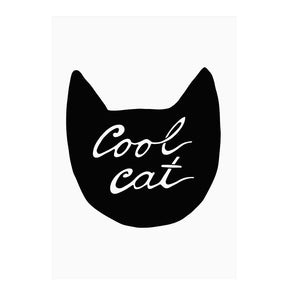 Cool Cat Print by Mini Learners - minifili