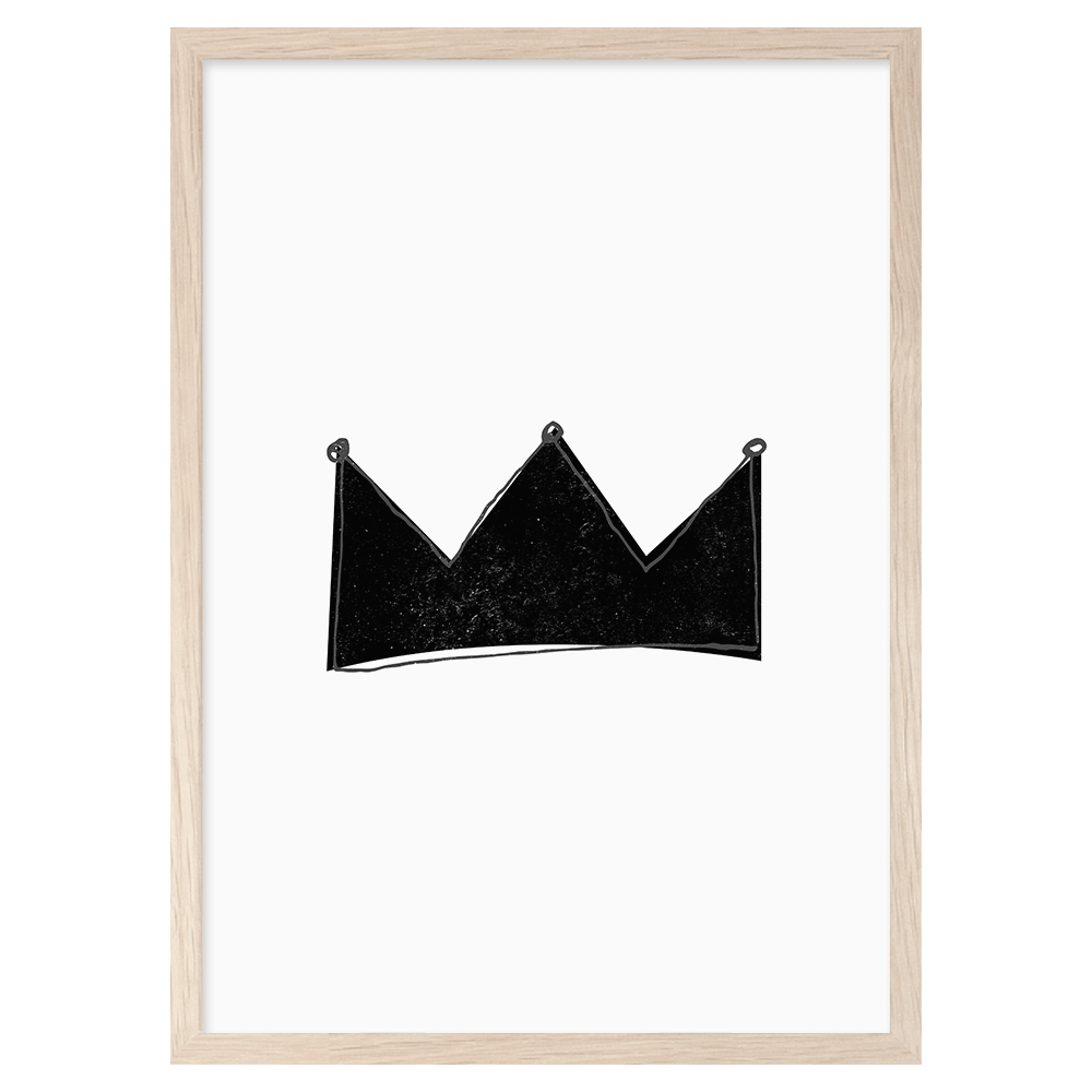 Mini Learners - Crown Print