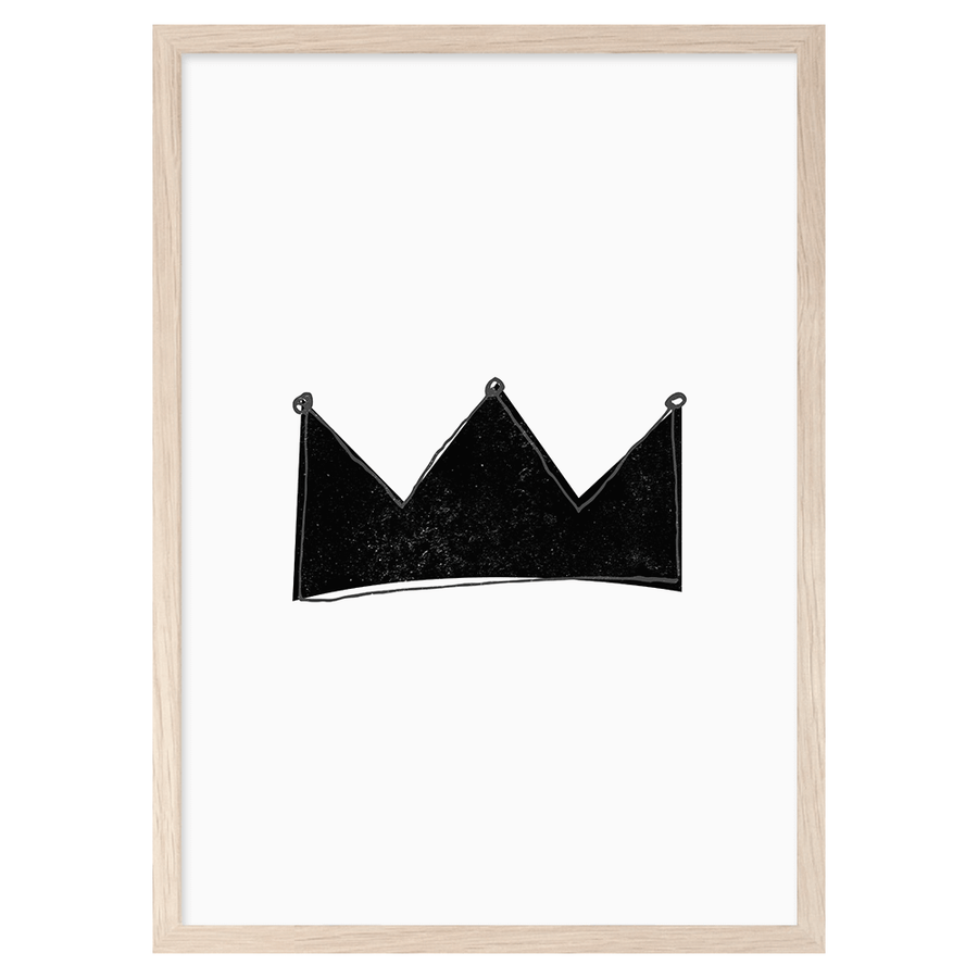 Crown Print by Mini Learners - minifili