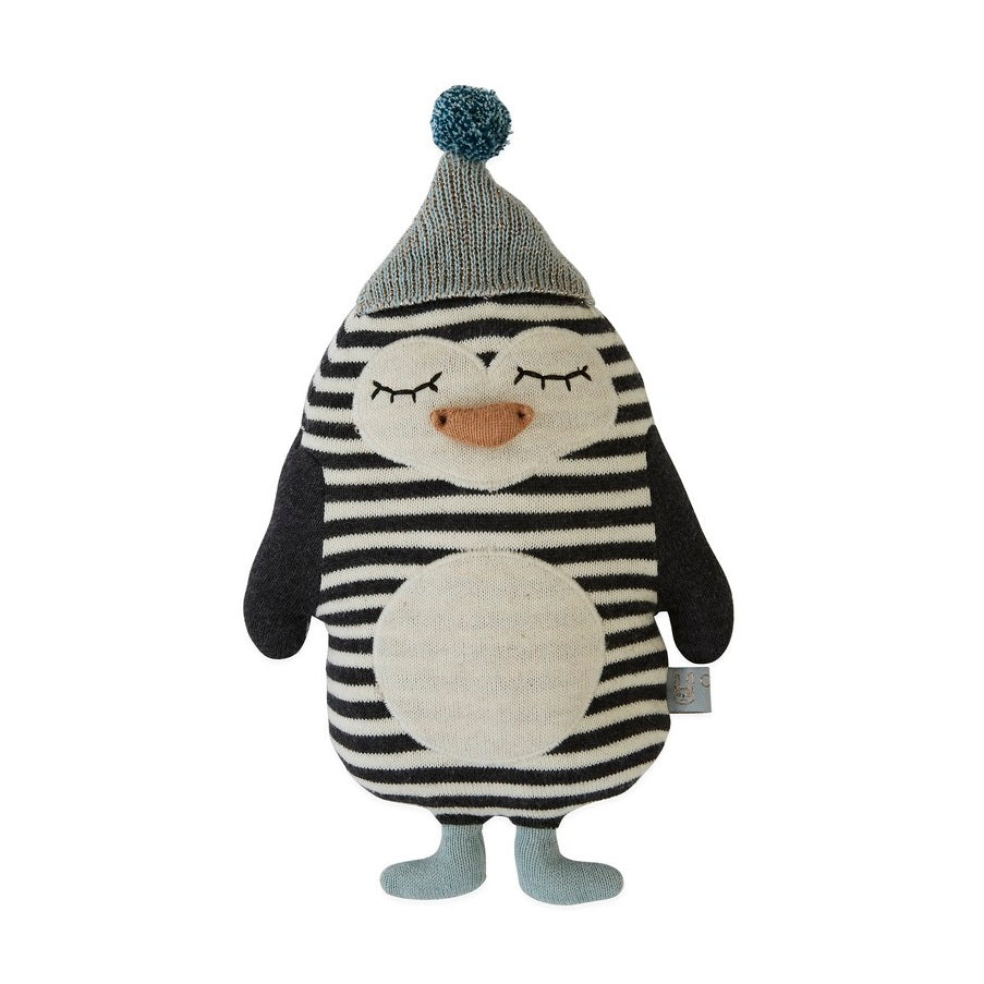 OYOY Mini - Baby Bob Penguin Soft Toy Cushion