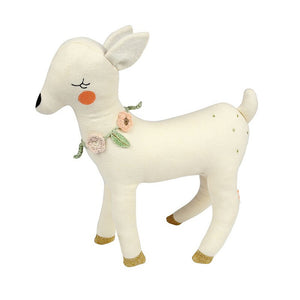 Knitted Deer Soft Toy by Meri Meri - minifili
