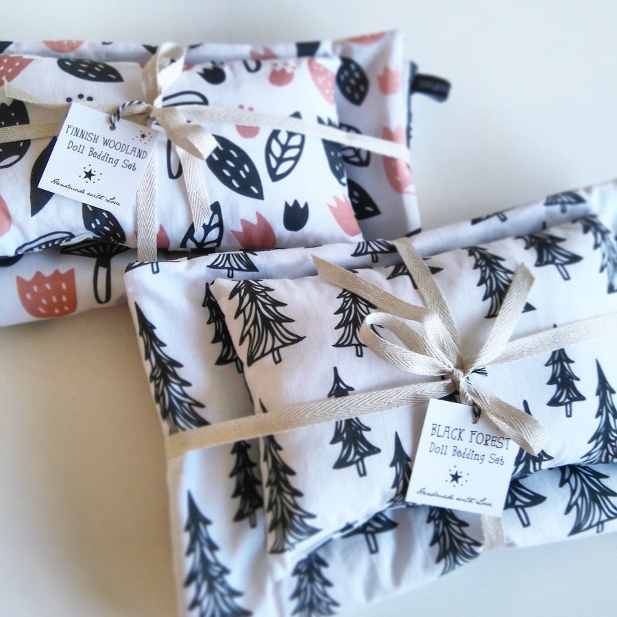 Finnish Woodland Dolls Bedding by Foxella and Friends - minifili