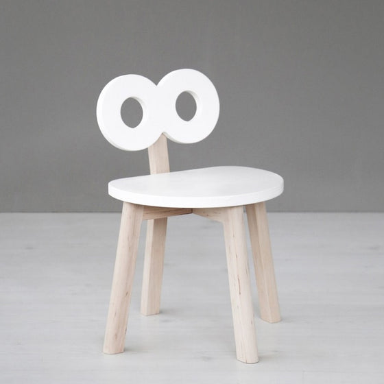 Double-O Chair White