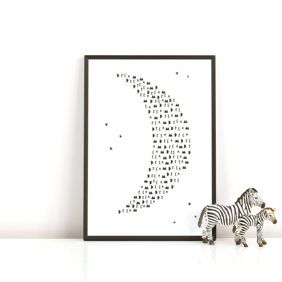 Dream Moon Print by Ingrid Petrie Design - minifili