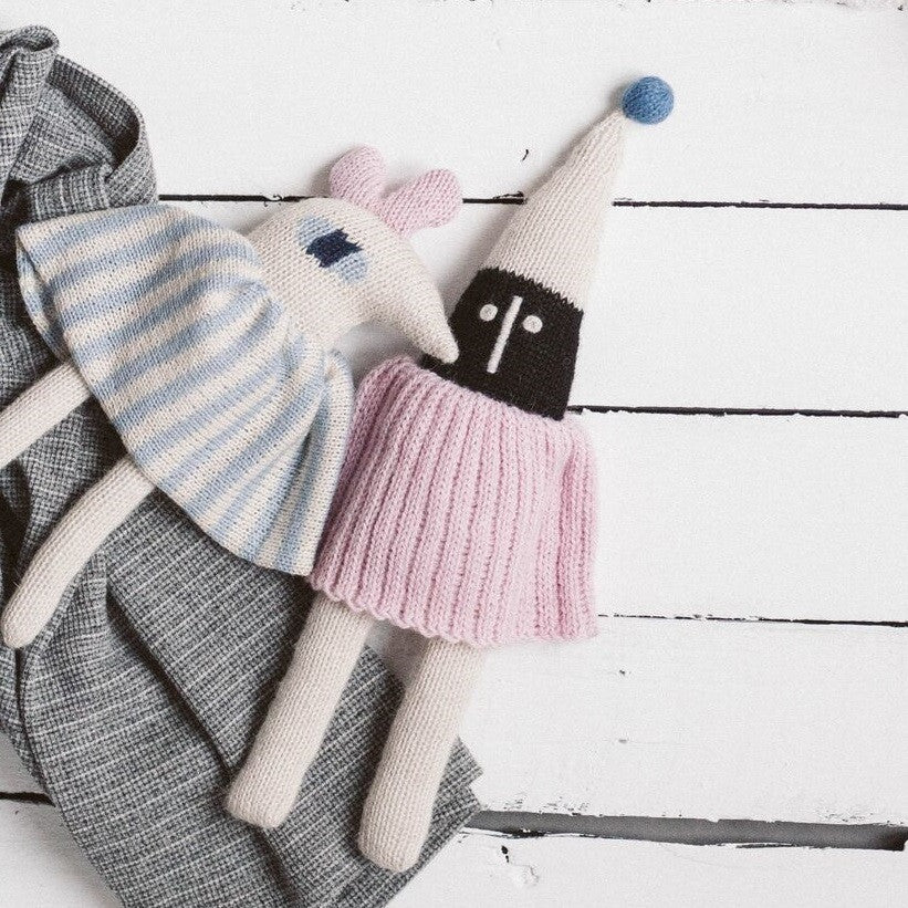 Main Sauvage - Elf Soft Toy Pink