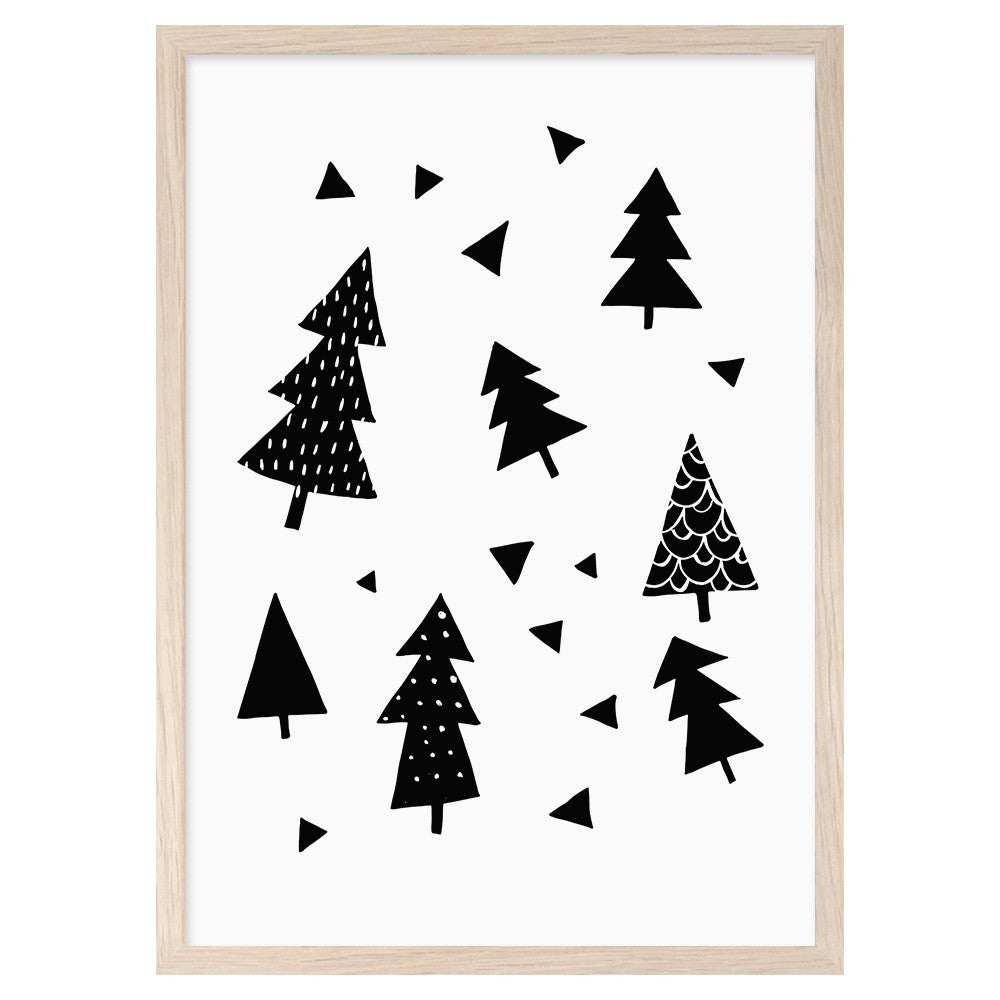 Mini Learners - Forest Print