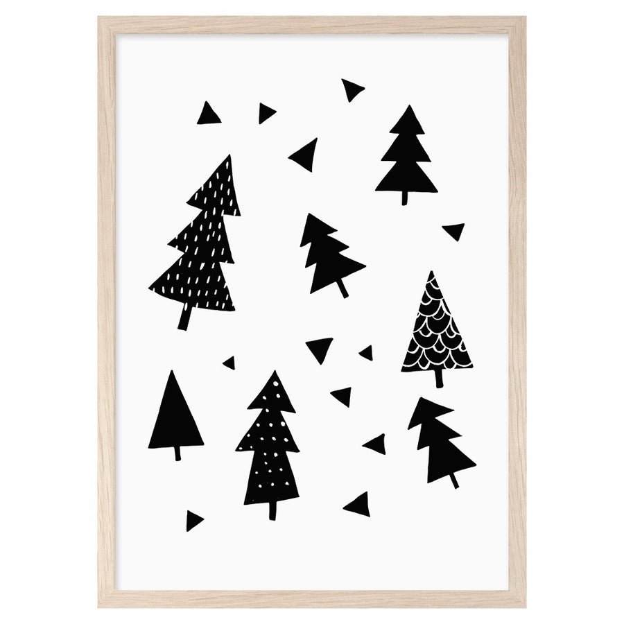 Forest Print by Mini Learners - minifili