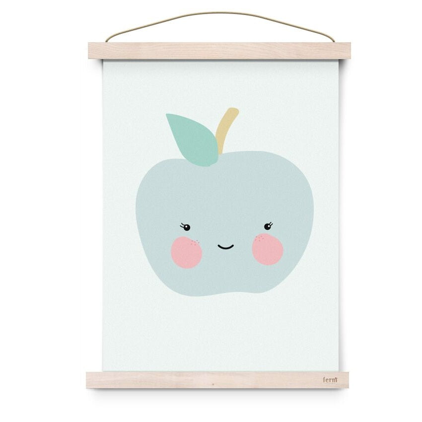 Fresh Fruit Apple Poster by Eef Lillemor - minifili