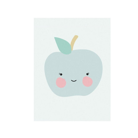 Fresh Fruit Apple Poster