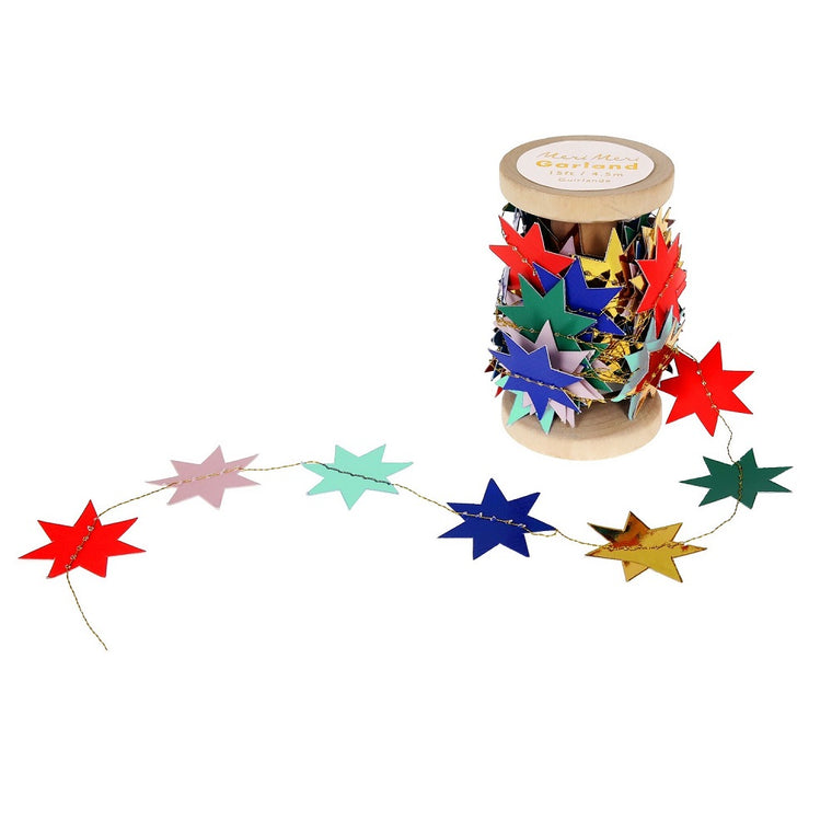 Nutcracker Spool Garland