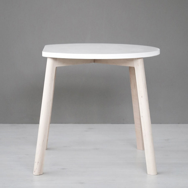 Half-Moon Table White
