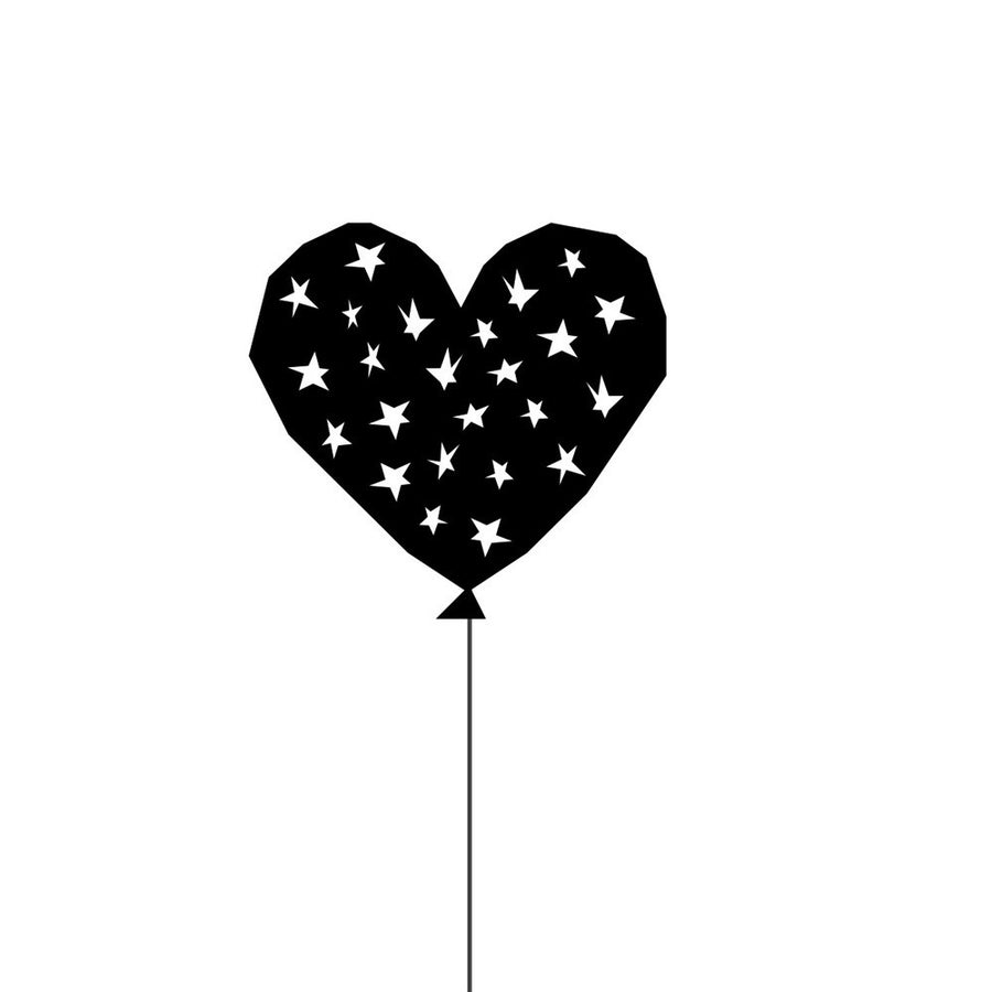 Starry Balloon Print by Ingrid Petrie Design - minifili
