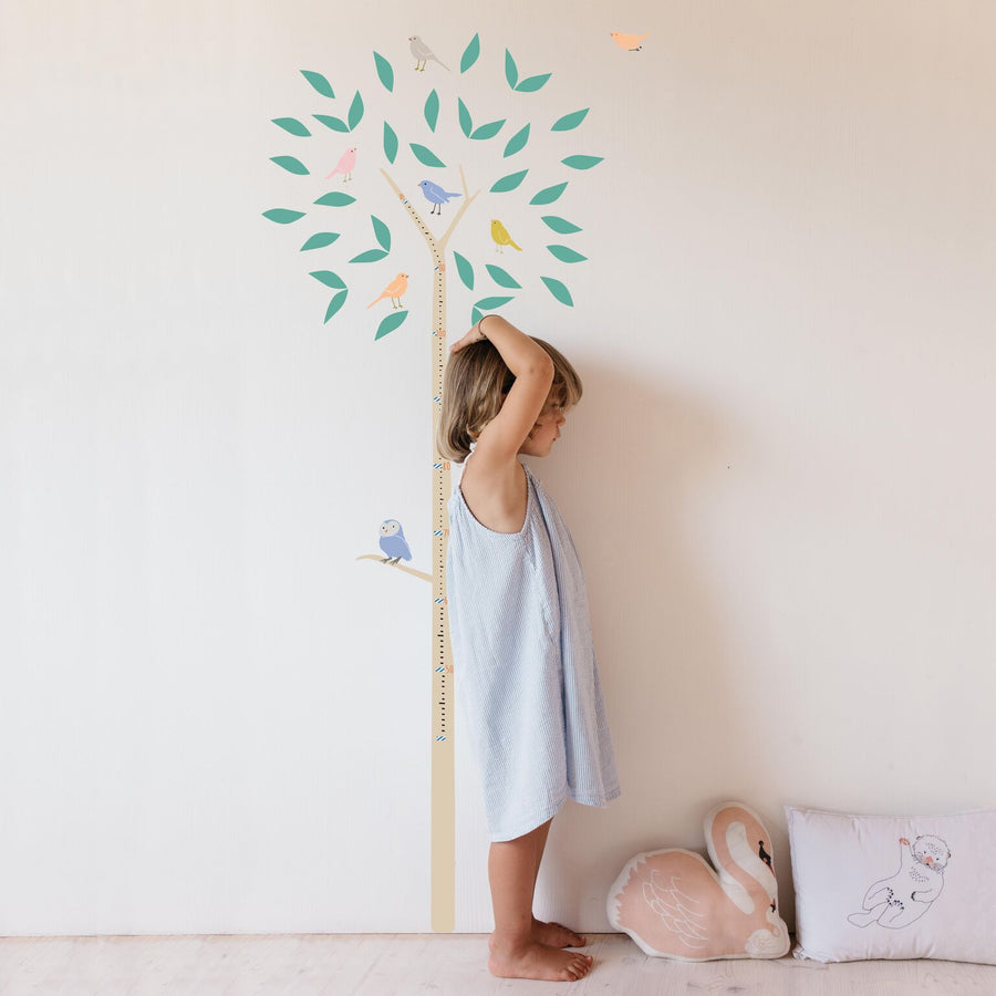 Tree Height Chart Wall Decal by MIMI'lou - minifili