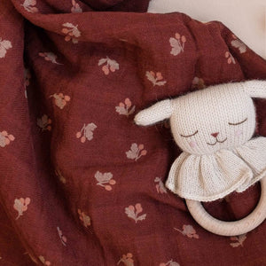 Lamb Teething Ring by Main Sauvage - minifili