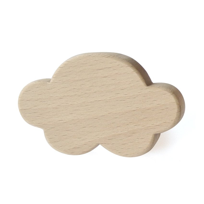 Briki Vroom Vroom - Cloud Wooden Hook