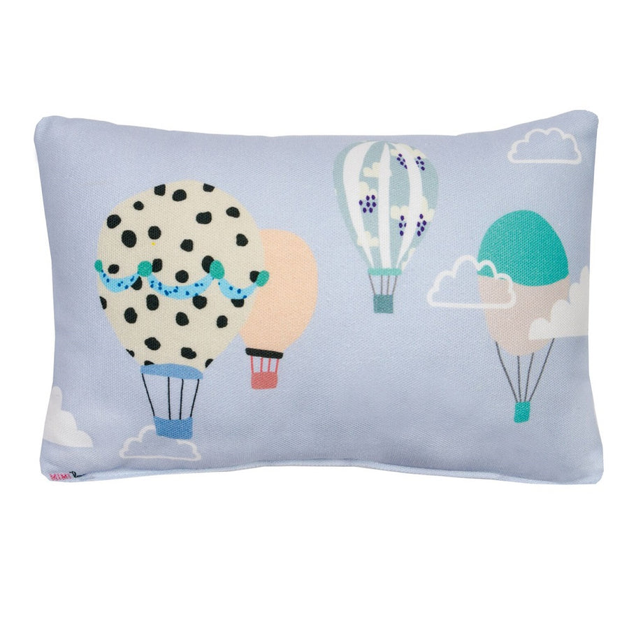 Hot Air Balloons Mini Cushion by MIMI'lou - minifili