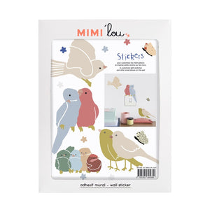 Just a Touch - Birds Wall Sticker by MIMI'lou - minifili