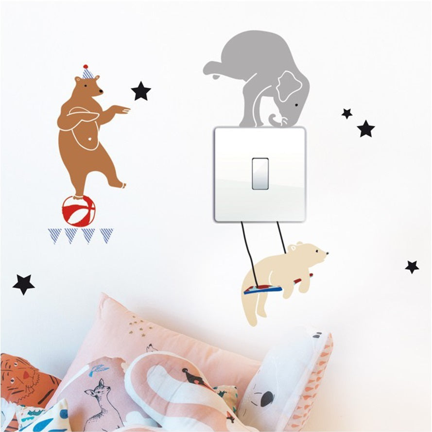 Just a Touch - Circus Wall Sticker by MIMI'lou - minifili