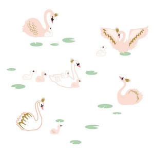 Swan Lake Wall Sticker by MIMI'lou - minifili