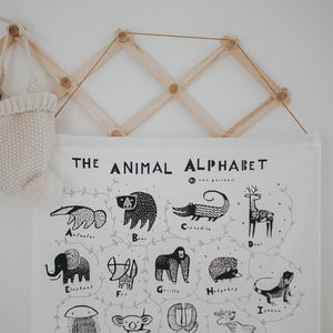 Alphabet Wall Hanging by Wee Gallery - minifili