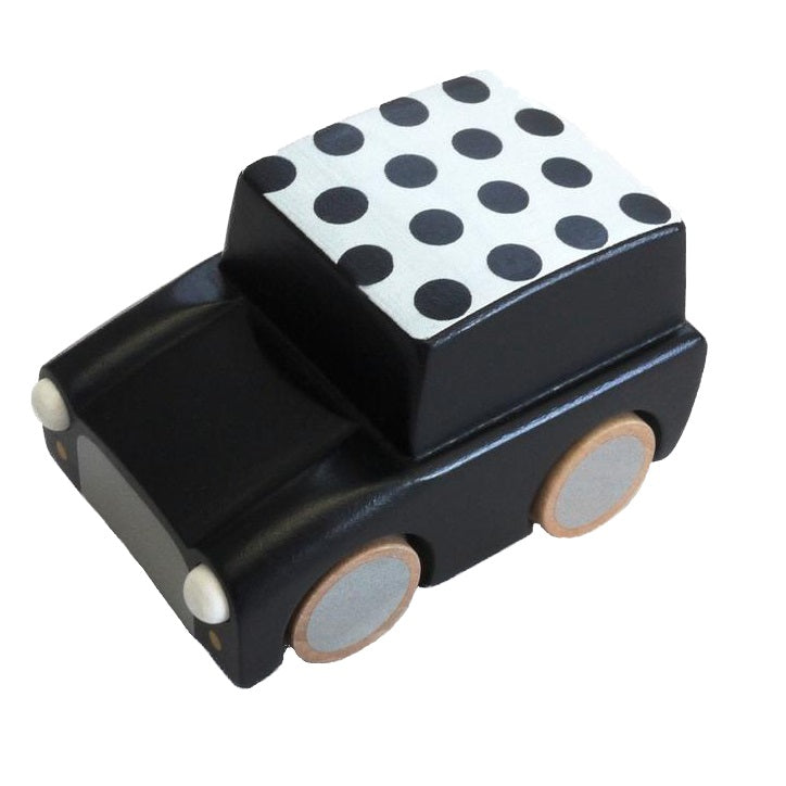Kuruma Pullback Car Dots Black