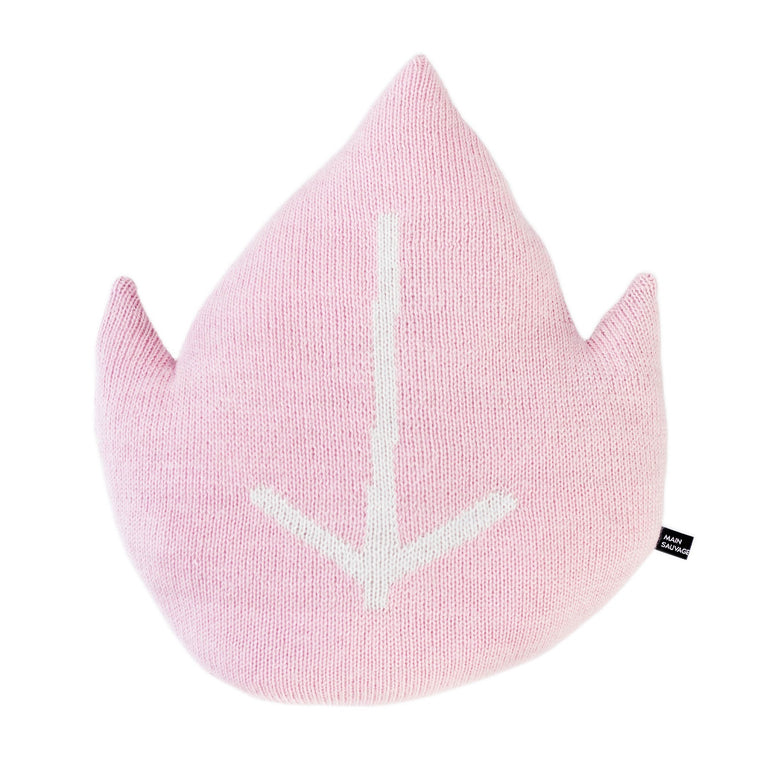 Leaf Cushion Pink