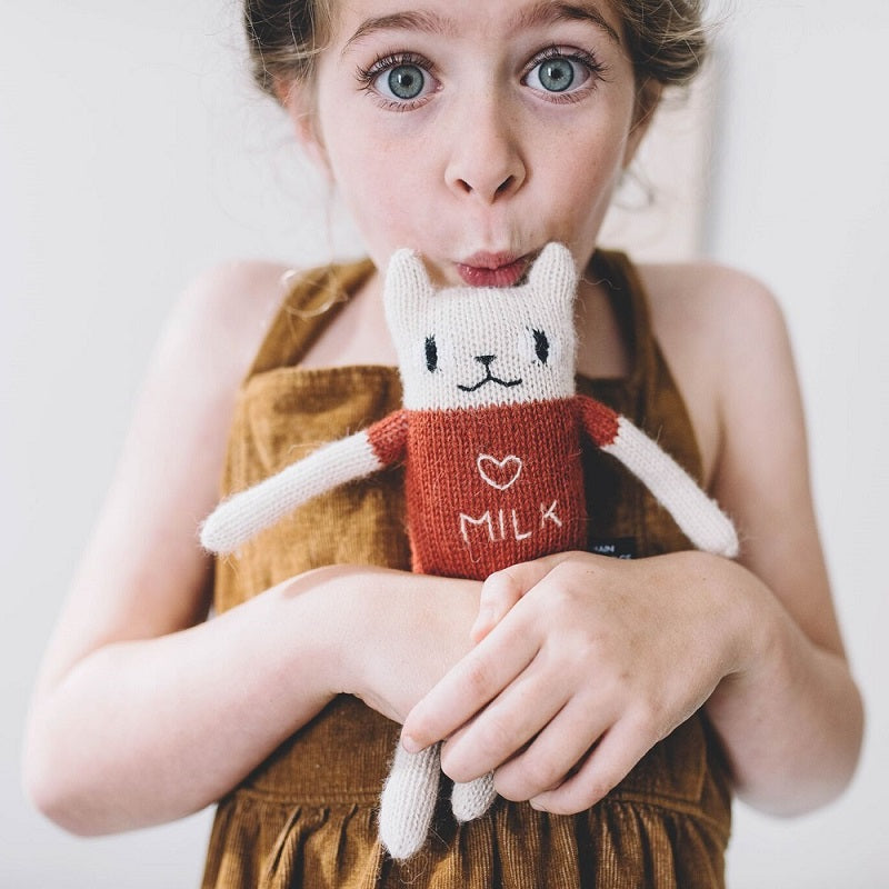 Cat Soft Toy Sienna by Main Sauvage - minifili
