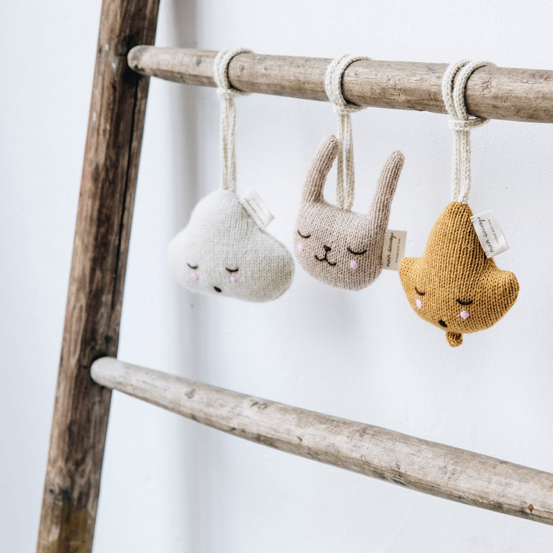 Rabbit Hanging Toy by Main Sauvage - minifili