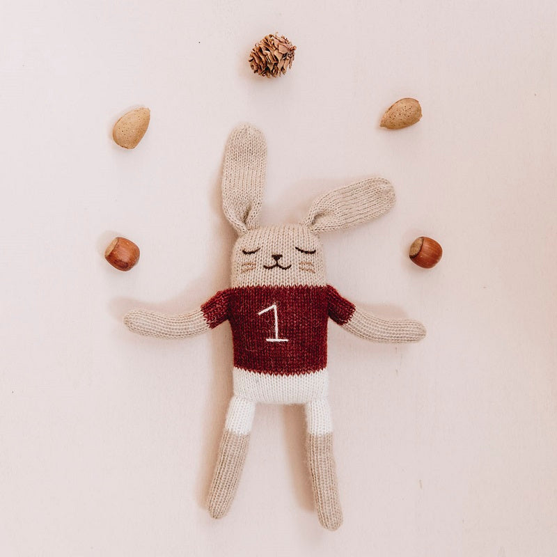 Bunny Soft Toy Sienna by Main Sauvage - minifili