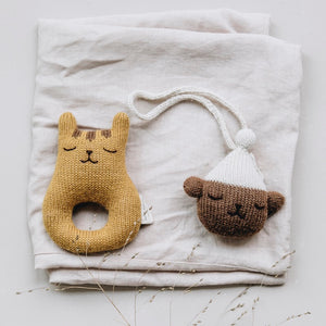 Teddy Hanging Toy by Main Sauvage - minifili