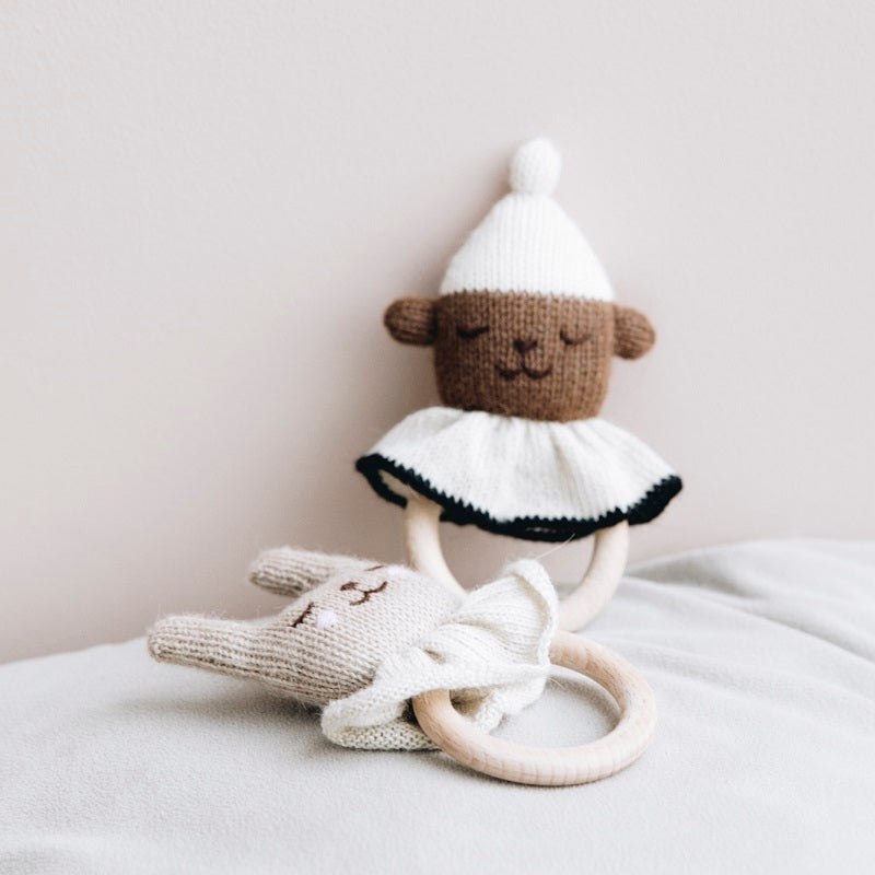 Teddy Teething Ring by Main Sauvage - minifili
