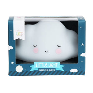 Sleeping Cloud Night Light White by A Little Lovely Company - minifili