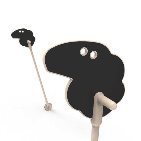 Mary's Little Lamb on a Stick