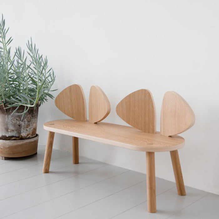 Mouse Bench Oak by Nofred - minifili