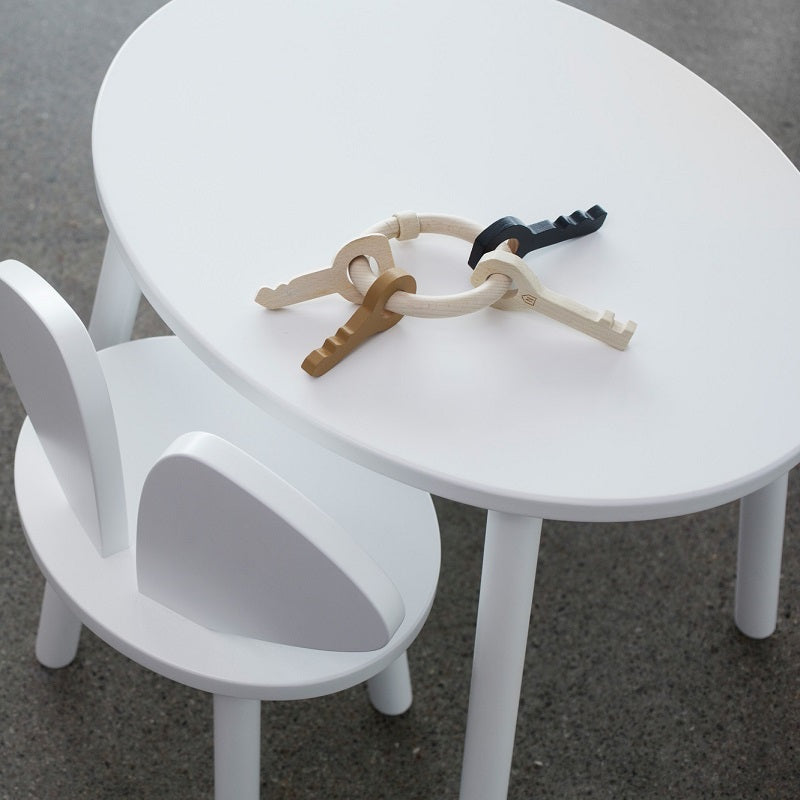 Nofred - Mouse Table White