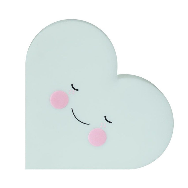 Heart Night Light Mint