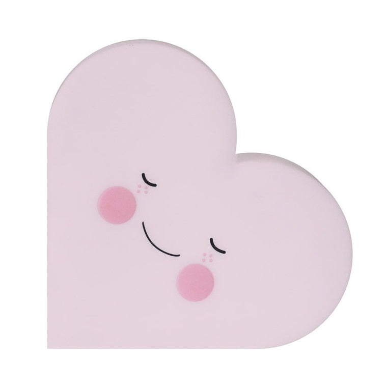 Heart Night Light Pink