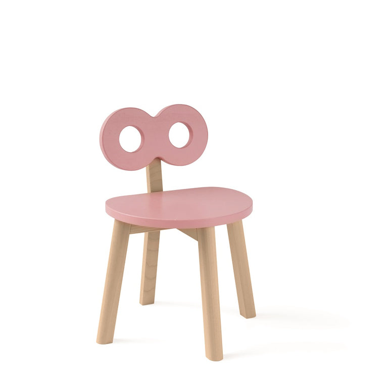 Double-O Chair Pink