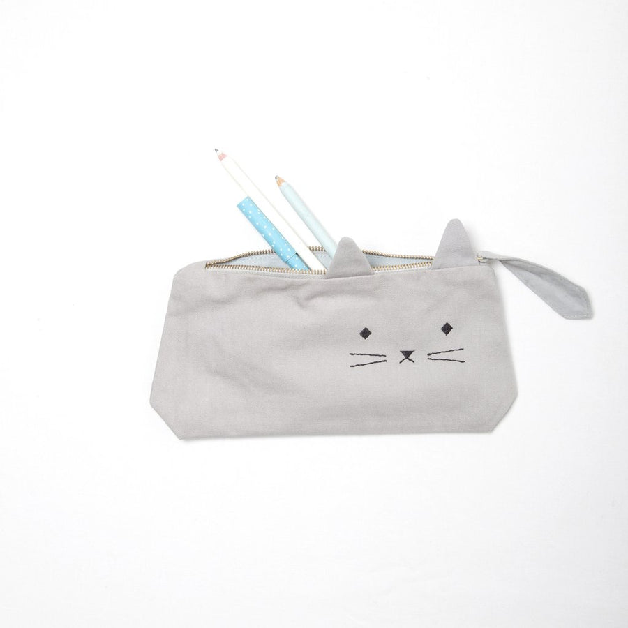 Pencil Case Cuddly Cat by Fabelab - minifili