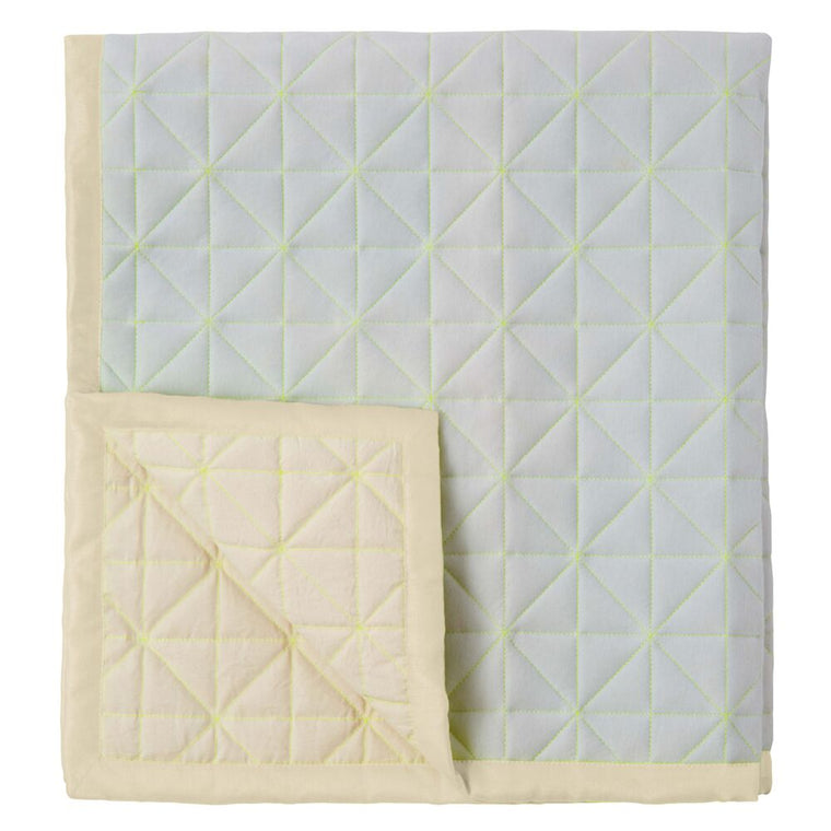 Quilted Play Mat Blue