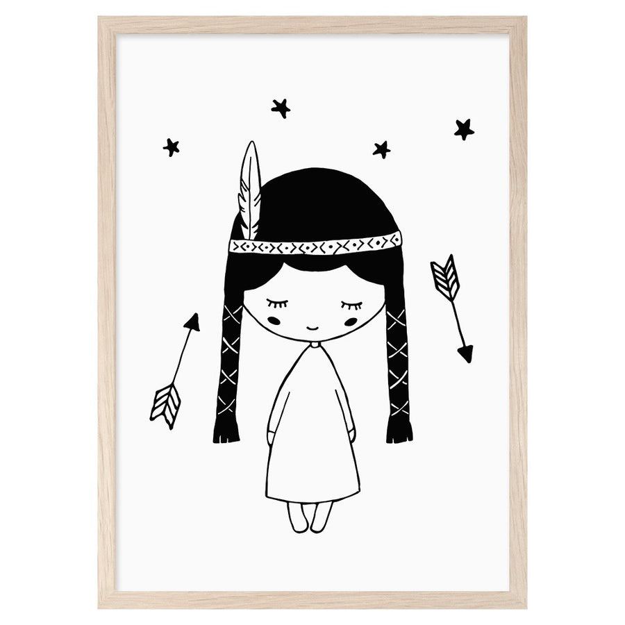 Pocahontas Print by Mini Learners - minifili