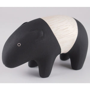 Pole Pole Wooden Animal Tapir by T-Lab - minifili