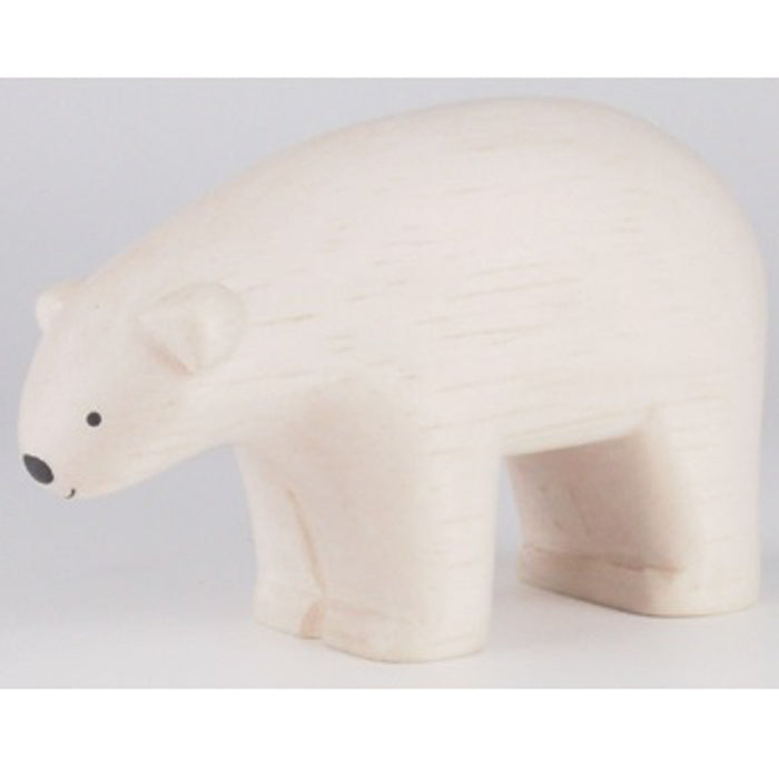 Pole Pole Wooden Animal Polar Bear by T-Lab - minifili